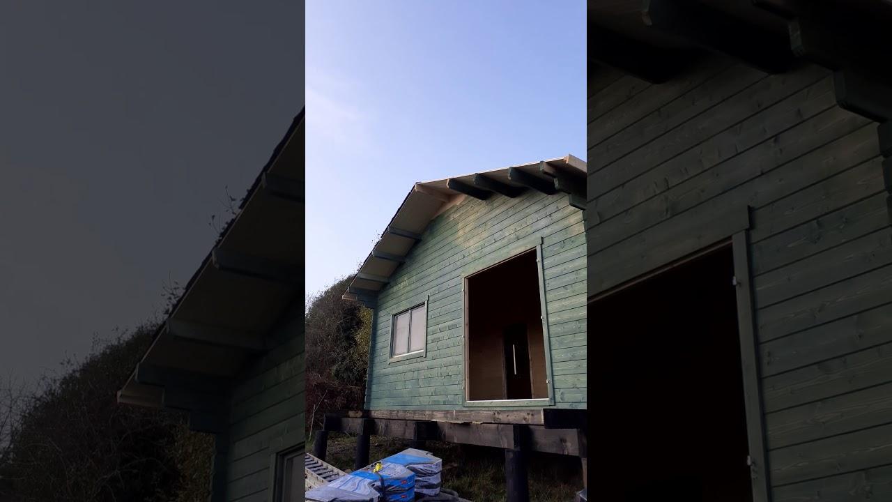 Off Grid Cabin Build Ireland