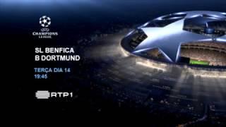 PROMO:.Liga dos Campeões | SL Benfica x B Dortmund