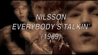 HARRY NILSSON Everybody's Talkin' MUSIC VIDEO
