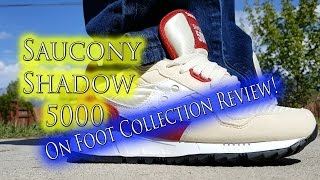 Saucony Shadow 5000 On Foot Collection Review