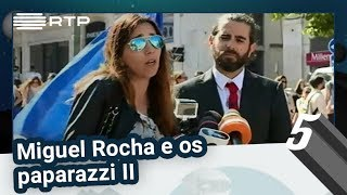 Miguel Rocha e os paparazzi II | 5 Para a Meia-Noite | RTP
