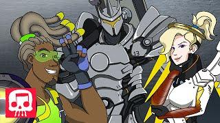 "OVERWATCH HERO RAP by JT Machinima - ""What A Hero's Made Of"" (Hero Rap #2)"