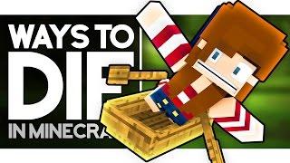 Ways to Die: FISHING (Minecraft Animation)
