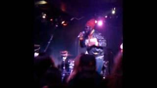 Chezidek live Bun di ganja at the rocket room San Francisco