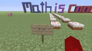 Minecraft Array 3rd grade lesson