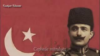 "Enver Paşa Marşı : ""Hoş Gelişler Ola Kahraman Enver Paşa"""