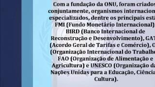 ONU Organização das Nações Unidas)