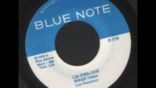 Lou Donaldson - Midnight creeper - Blue Note Records Mod Jazz