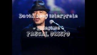 Pascal Obispo - Millésime Cover David