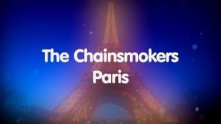 The Chainsmokers - Paris [Karaoke]