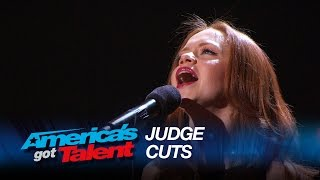 """Daniella Mass: Stunning Multi-Language Cover of """"Don't Cry for Me Argentina"""" - America's Got Talent"""