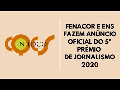 Imagem post: Fenacor e ENS fazem anúncio oficial  do 5º Prêmio de Jornalismo 2020