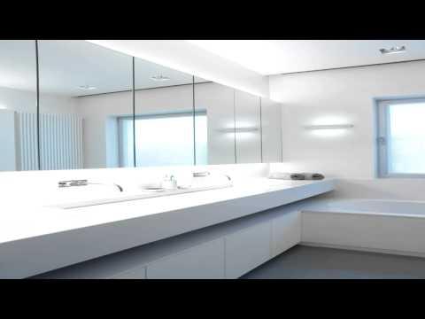 סרטון: תאורה לחדר אמבטיה