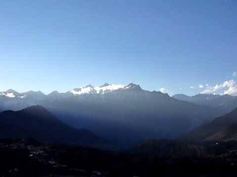 Sunset Muktinath Annapurna Circuit – MTB Trek Nepal 2010