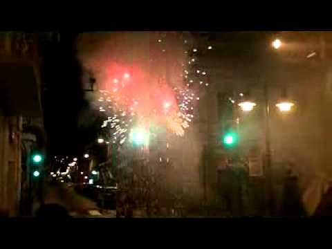 CUENCA ECUADOR FIREWORKS AND MALFUNCTION
