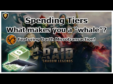 RAID Shadow Legends | Spending Tiers Discussion | What makes you a whale? w/ DarthMicro!