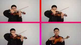 Just a Kiss - Lady Antebellum Violin Cover