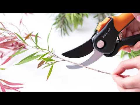 Softgrip Florist & Garden Bypass Pruner Fiskars (24cm)
