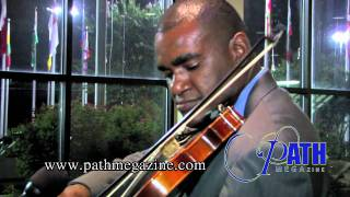 Richmond Punch Interviews on Path MEGAzine - Plays Violin On the Spot
