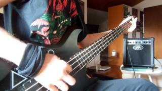 Nihilist - Revel In Flesh (Bass Cover)