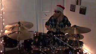 Jenny mcHughs Basement Christmas Special! Found a drumless track, its not perfect, made it up in 10