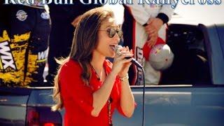 Lauren Mayhew Sings the National Anthem for Red Bull's Global RallyCross in Long Beach, CA!