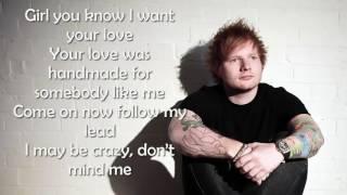 ED SHERAN - SHAPE OF YOU [Official Lyrics Video]