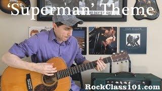 'Superman' Theme: Solo Guitar