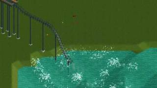 RCT2: Roller Coaster Tycoon 2 Crazy Crashes