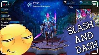 Mobile Legends - Saber Montage (Slash And Dash)
