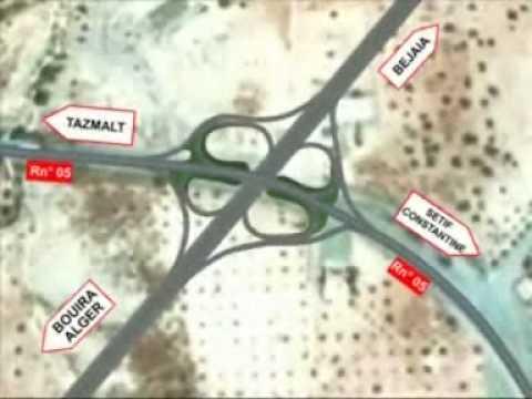 Projet pénétrante Béjaia – Autoroute Est-Ouest ( Algérie )