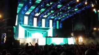 Skrillex - Ragga Bomb Remix & Recess @ Stereosonic Melbourne 2014