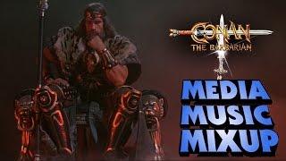 Conan The Barbarian Media Music Mixup (He-Man) Media Melee Mashup