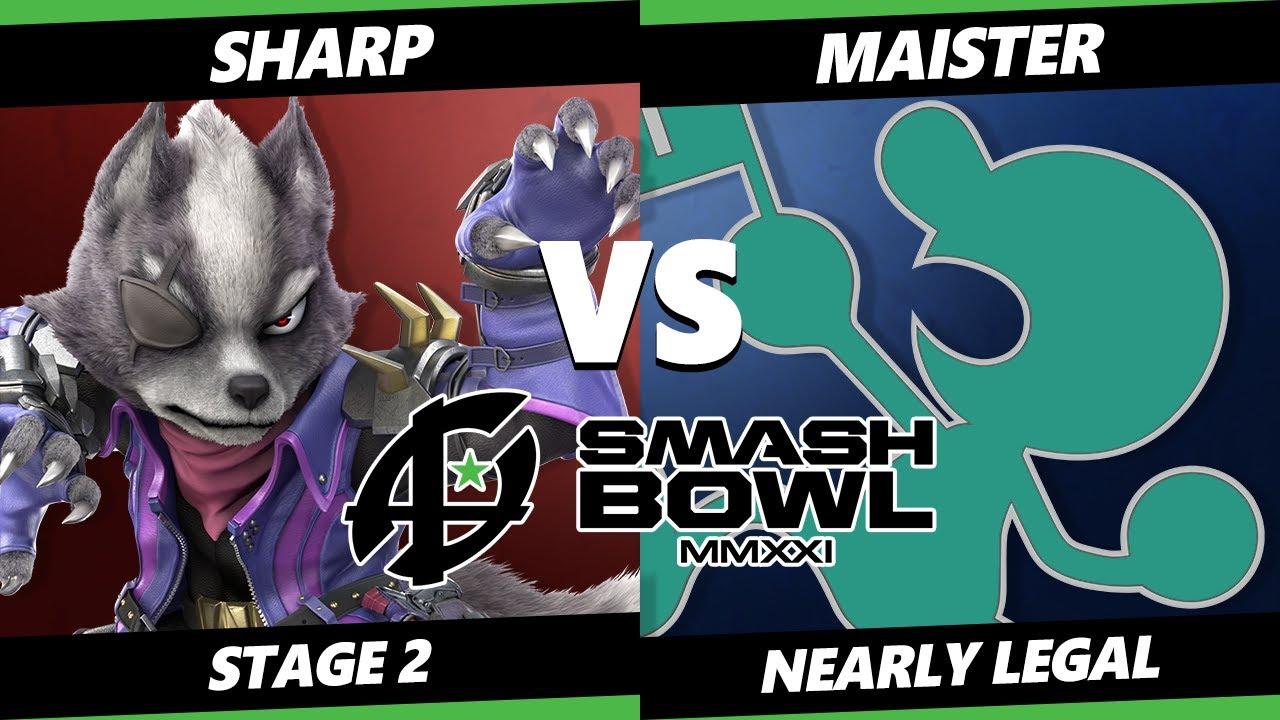 VGBootCamp - Smash Bowl MMXI Nearly Legal SSBU - Sharp (Wolf) Vs. Maister (Game & Watch) Smash Ultimate Stage 2