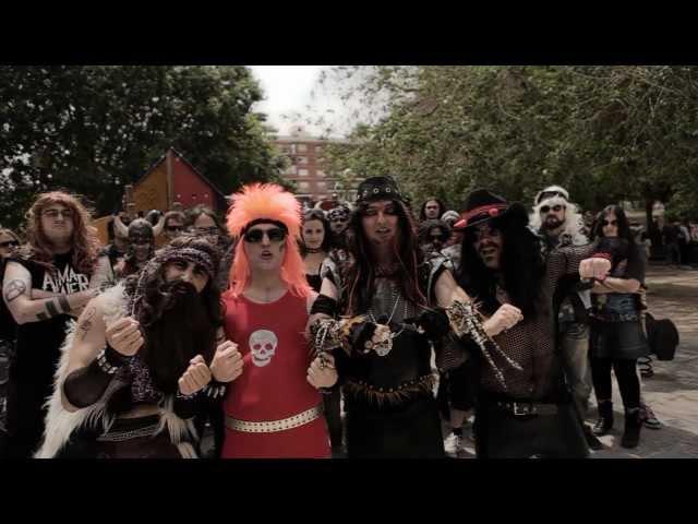 "Videoclip oficial de la canción ""Apocalipsis Molón"" de Gigatron."