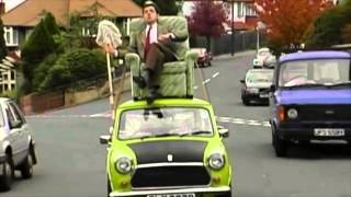 Mr Bean Riding on Chair Background Music Cover