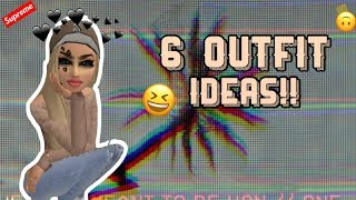 Avakinlife: 6 outfit ideas!