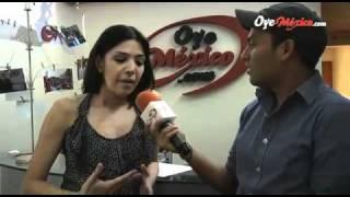 Tamara Vargas en entrevista con Christian Valera - OyeMexico.com