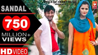 ✓ Sandal | सैंडल | Haryanvi DJ Song 2016 | Vijay Varma, Anjali Raghav | Raju Punjabi | VOHM width=