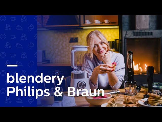SZYBKIE I ZDROWE PRZEPISY Z BLENDERA 🥬 | Test Braun Multiquick 9 oraz Philips HR2224/00
