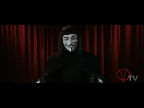 V per Vendetta: il discorso di V.
