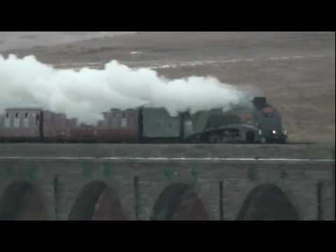 The Winter Cumbrian Mountain Express – LNER A4 Class – 60009 – 23 February 2013