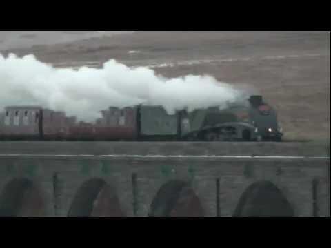 The Winter Cumbrian Mountain Express – LNER A4 Class – 60009 – 23 February 2013
