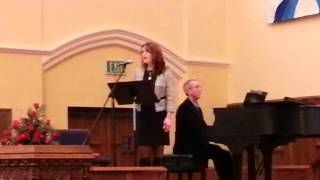 "Suzi Carpenter singing at Jake and Jill's Wedding - Cover ""Your Love"""
