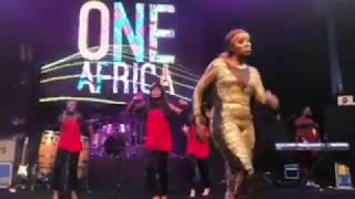 Tiwa Savage Robo Ske Ske Performance In Dubai | One Africa Music Fest 2017 (Watch Now)