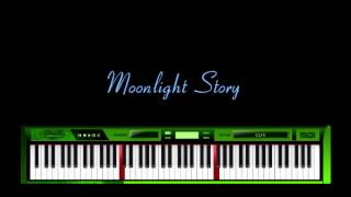 Moonlight Story - A Fast Piano
