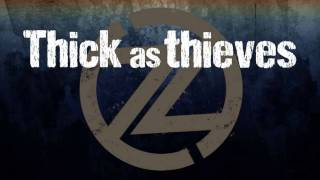 """THICK as THIEVES"" by Cavo - Official Lyric Video"