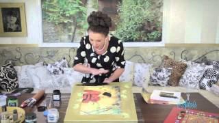 Arts & Crafts Tutorial: Russian Style Art Idea