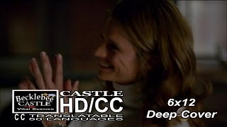"Castle 6x12 End Scene "" Deep Cover"" Caskett September Wedding  (HD/CC)"