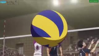 排球少年 烏野v.s.白鳥澤 最後一顆決勝球